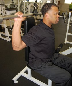 No Behind the Neck Presses