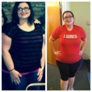 Gena Berryman 40 pounds down